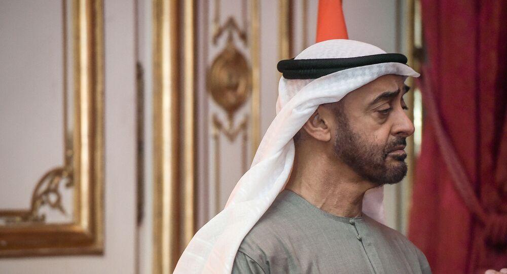 ولي عهد أبو ظبي الشيخ محمد بن زايد