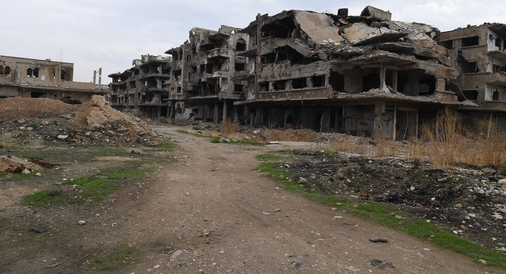 حي جوبر ريف دمشق، سوريا