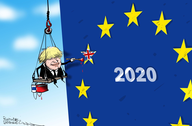 جونسون يعلن مغادرة الاتحاد الأوروبي في 31 يناير