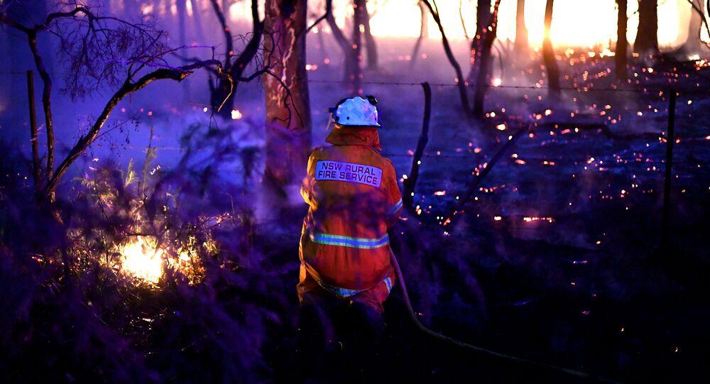 إطفاء الحرائق في أستراليا، 7 ديسمبر 2019