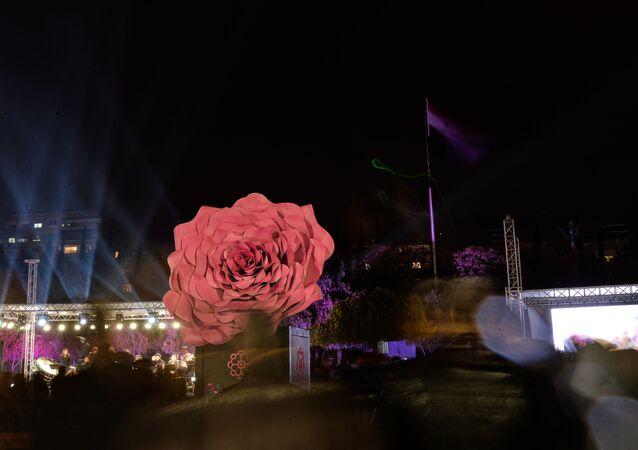 دمشق تحتفل بإدراج الوردة الشامية ضمن قائمة التراث الإنساني في اليونيسكو