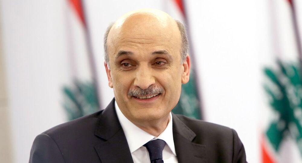 رئيس حزب القوات اللبنانية، سمير جعجع