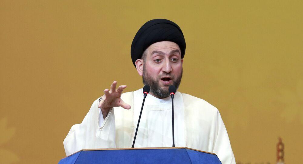 رئيس تيار الحكمة في العراق عمار الحكيم