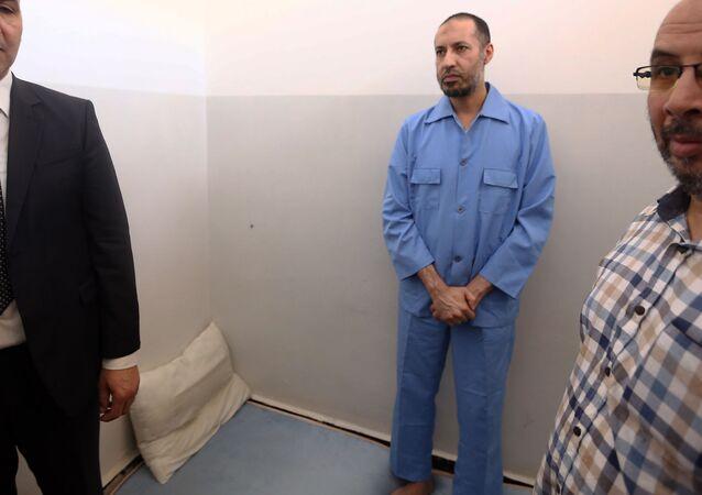 الساعدي القذافي