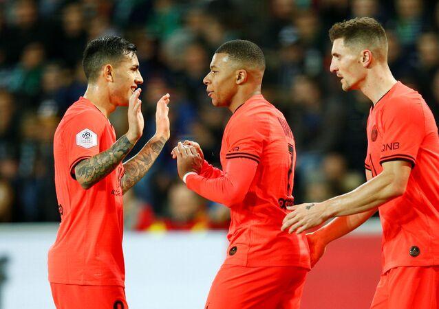 أهداف مباراة باريس سان جيرمان وسانت إيتيان (4-0) في الدوري الفرنسي