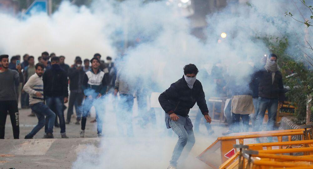 مظاهرات في الهند بسب قانون الجنسية