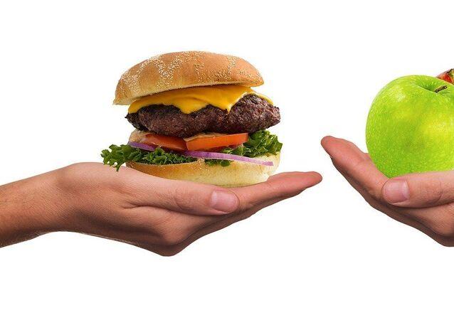 الأكل الصحي، إنقاص الوزن، الأكل الدسم، زيادة الوزن، رياضة