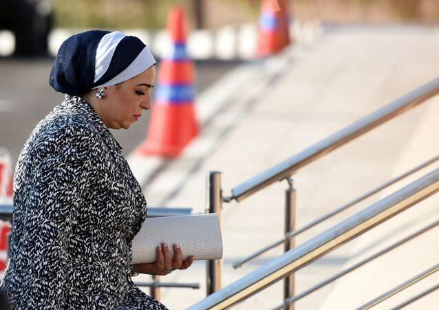 انتصار السيسي، زوجة الرئيس المصري عبد الفتاح السيسي
