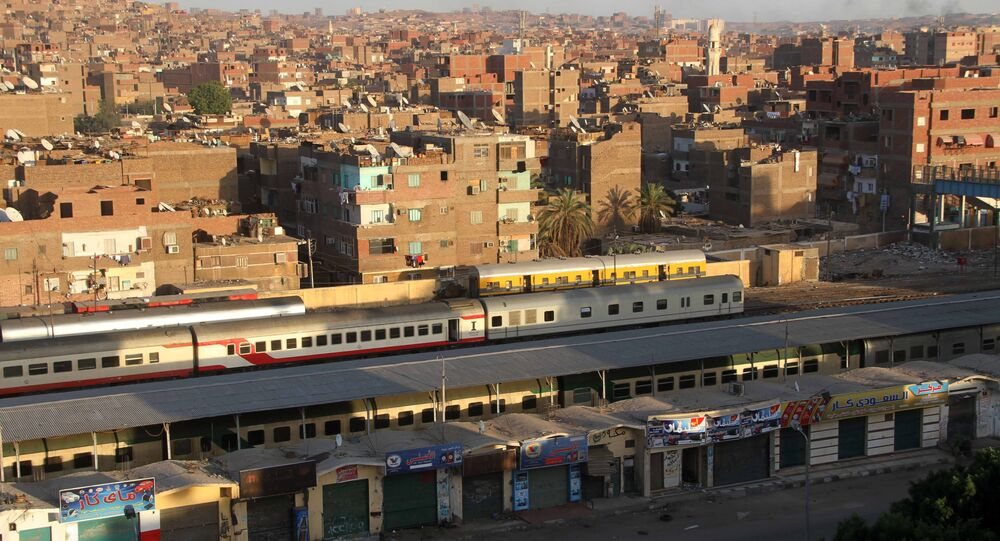 قطار - سكك حديد مصر