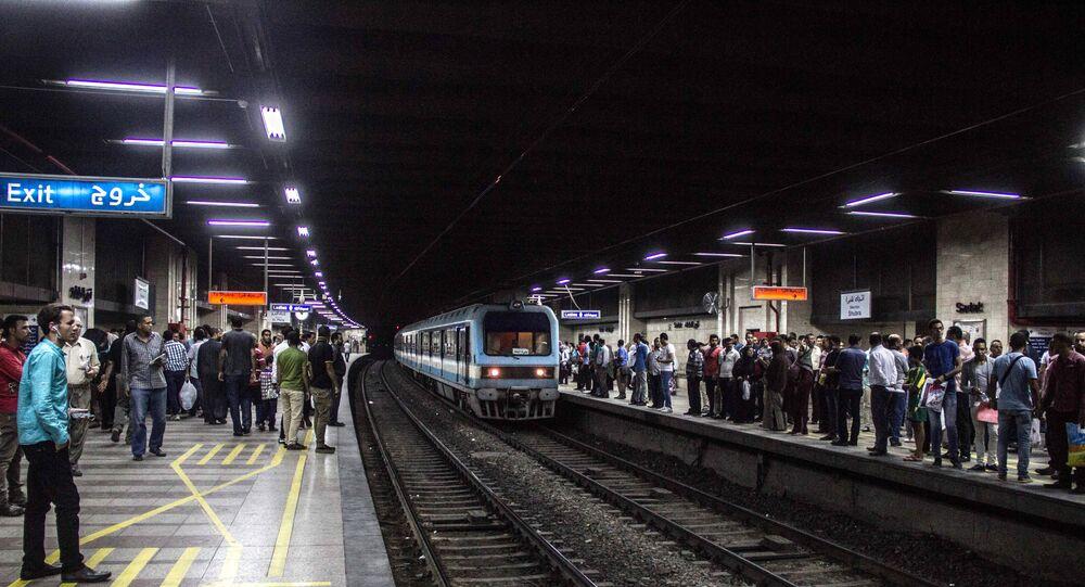 مترو الأنفاق - القاهرة - مصر