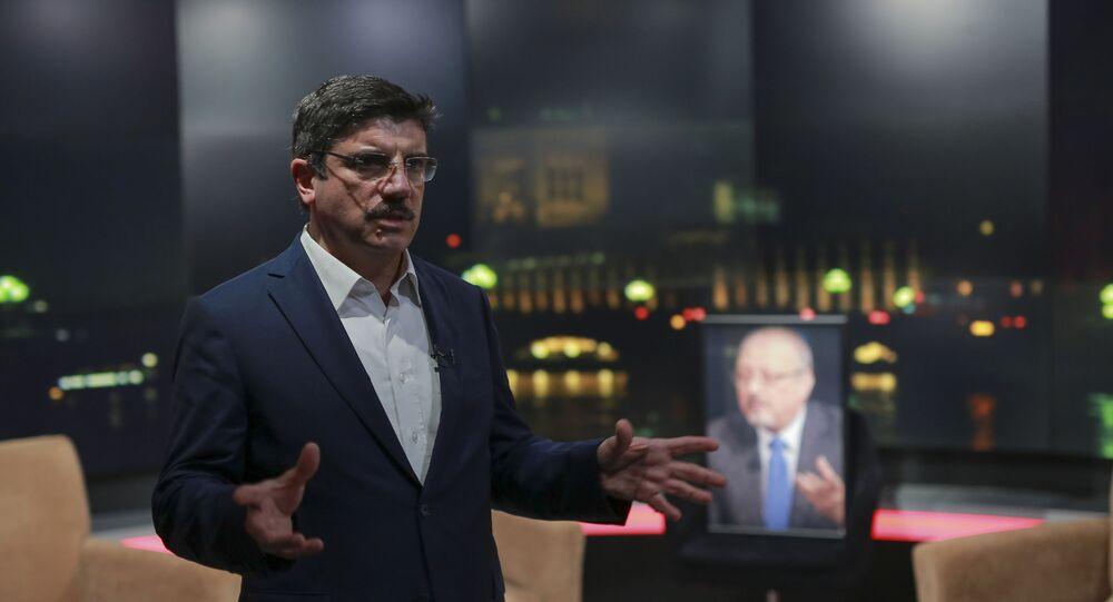 ياسين أقطاي مستشار الرئيس التركي رجب طيب أردوغان