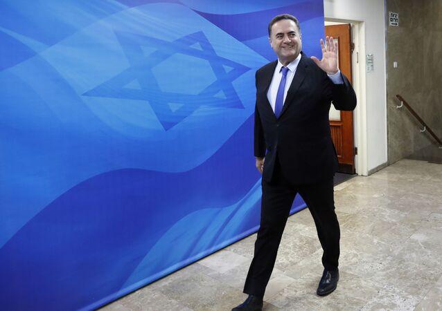 وزير الخارجية بحكومة تسيير الأعمال الإسرائيلية، إسرائيل كاتس