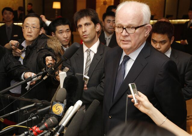 أكبر مفاوضي الولايات المتحدة، والممثل الخاص لشؤون كوريا الشمالية ستيفن بيجين