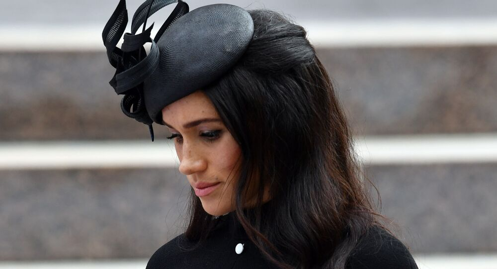 دوقة ساسيكس راشيل ميغان ماركل، زوجة الأمير هاري