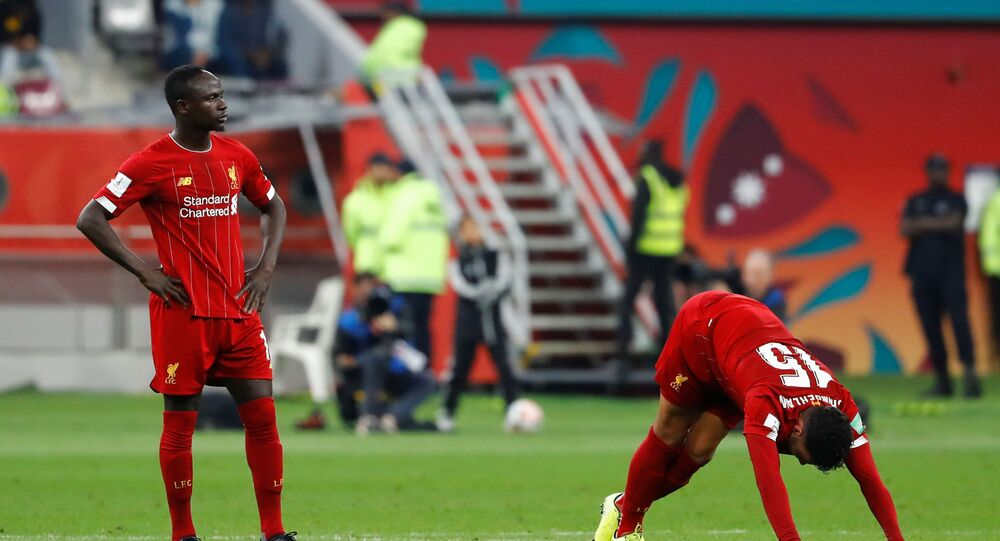ساديو ماني خلال مباراة ليفربول ومونتيري