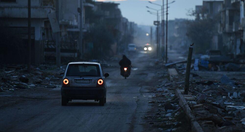 مدينة خان شيخون، محافظة إدلب، سوريا