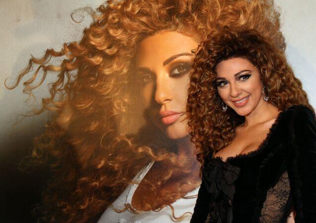 الفنانة اللبنانية ميريام فارس