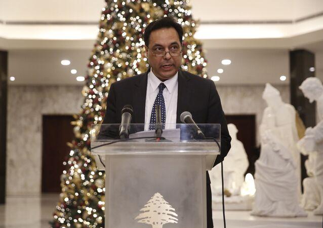 رئيس الحكومة اللبنانية المسمى حسان دياب