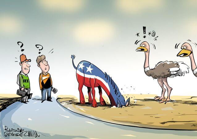 الديمقراطيون الأمريكيون يتجنبون سبوتنيك وآر تي