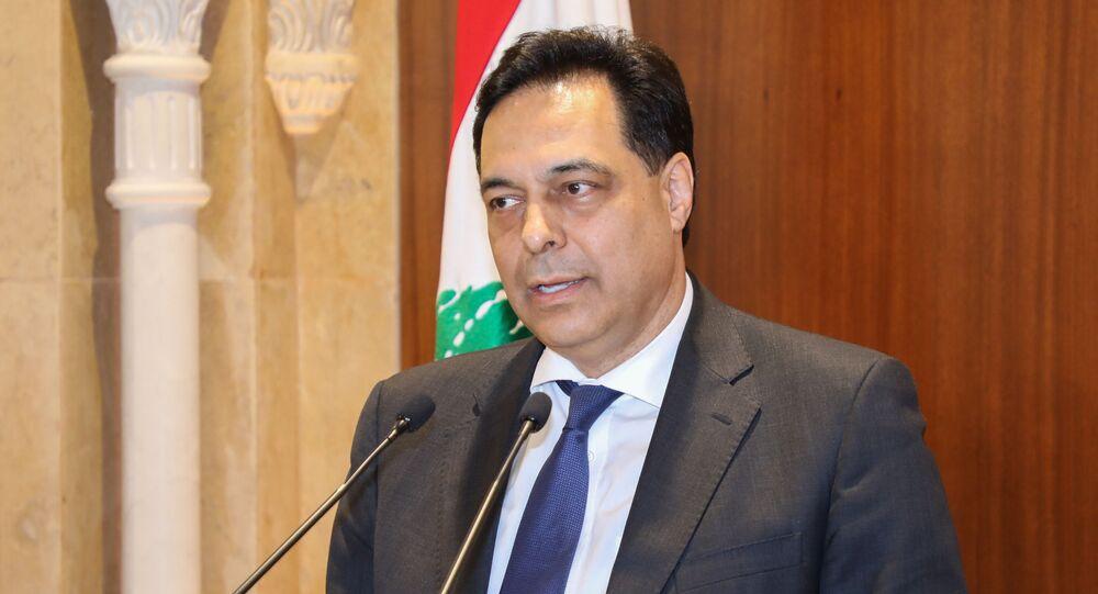 رئيس الحكومة اللبنانية المكلّف حسان دياب، بيروت، لبنان 20 ديسمبر 2019