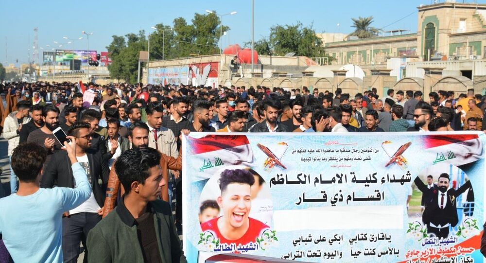 انطلاق مظاهرات مليونية يقودها طلاب العراق
