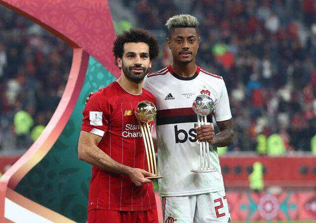 فوز محمد صلاح بجائزة أفضل لاعب في كأس العالم للأندية
