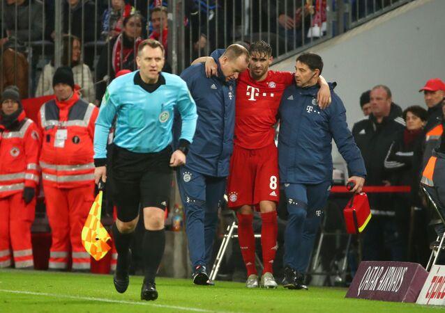 إصابة خابي مارتينيز في مباراة بايرن ميونيخ