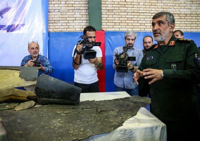 قائد القوات الجوية في الحرس الثوري الإيراني أمير علي حاجي زاده