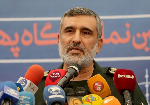 قائد القوات الجوية في الحرس الثوري الإيراني أمير علي حاجي زادة