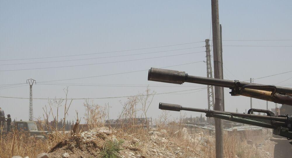 قوات الدفاع الوطني السوري، ريف حماة، سوريا