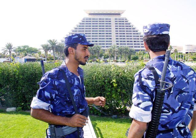 أفراد من الشرطة القطرية