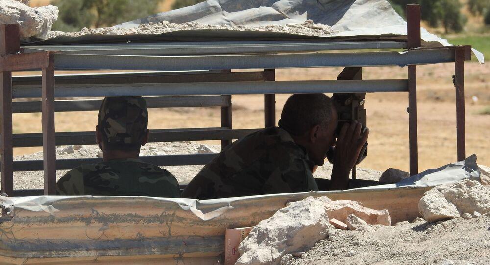 الجيش السوري يطوق نقطة تركية