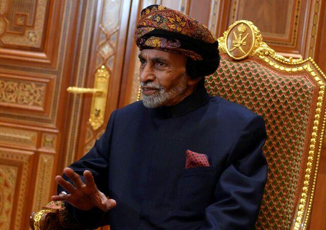 حاكم سلطنة عمان السلطان قابوس بن سعيد
