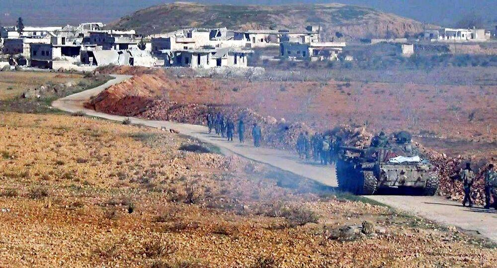 الجيش السوري يلاحق القوقاز
