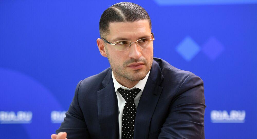 رئيس مجموعة الاتصال الروسية لتسوية النزاع الداخلي الليبي  ليف دينغوف