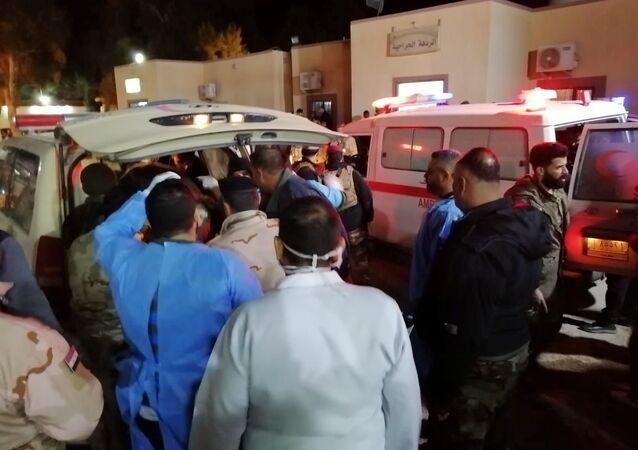 ضحايا الضربة الأمريكية التي استهدفت كتائب حزب الله المدعومة من الحشد الشعبي