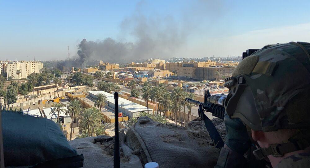 """الحشد الشعبي"""" يصدر بيانا بشأن قصف أربيل ويتحدث عن منطقة غير مسكونة -  Sputnik Arabic"""
