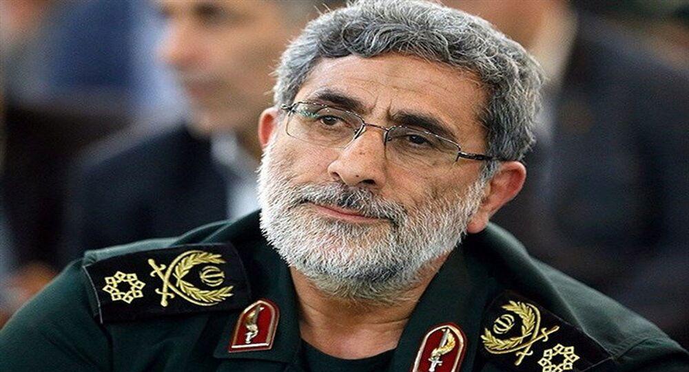 القائد الجديد لـفيلق القدس الإيراني إسماعيل قاآني