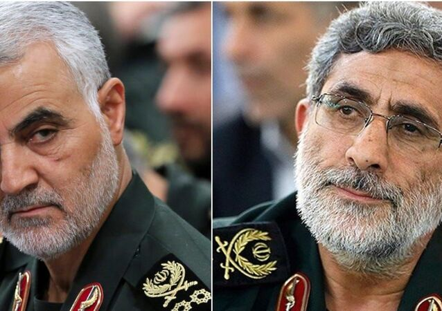 إسماعيل قاآني، قائد فيلق القدس التابع للحرس الثوري الإيراني