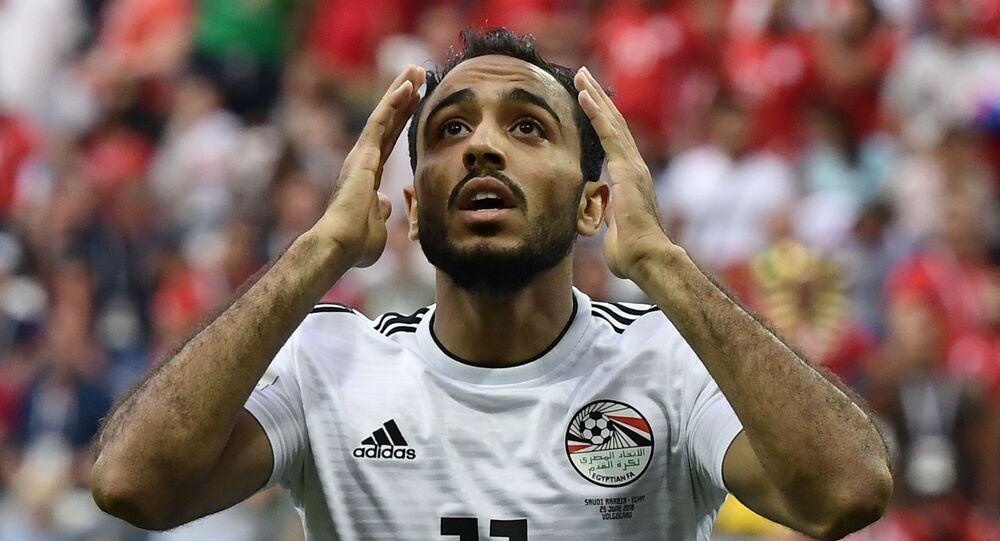 اللاعب المصري محمود كهربا