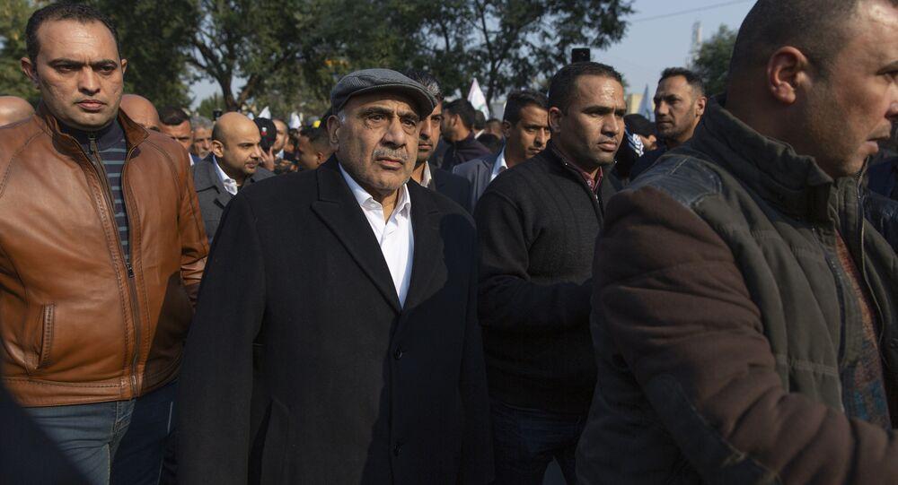 رئيس الوزراء العراقي المستقيل عادل عبد المهدي