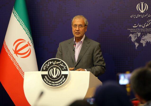 علي ربيعي المتحدث باسم الحكومة الإيرانية