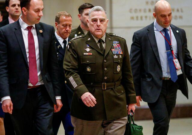 الجنرال مارك ميلي رئيس هيئة الأركان الأمريكية المشتركة