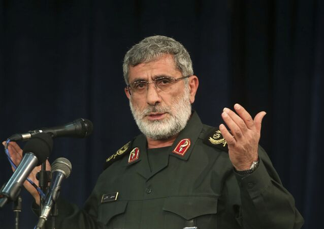 إسماعيل قاآني قائد فيلق القدس التابع للحرس الثوري الإيراني