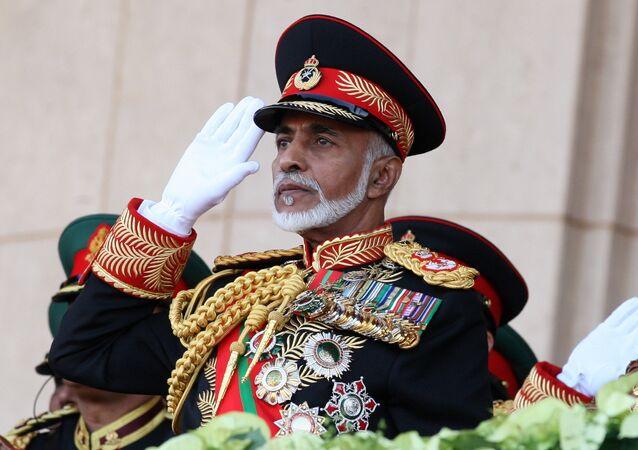 سلطان عمان، قابوس بن سعيد
