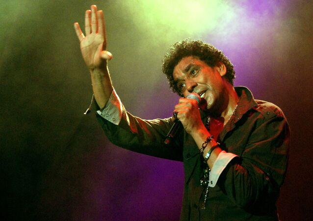 المطرب المصري محمد منير