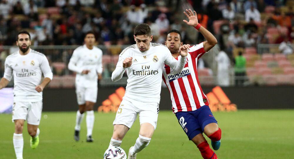 مباراة ريال مدريد وأتليتكو مدريد في السوبر الإسباني