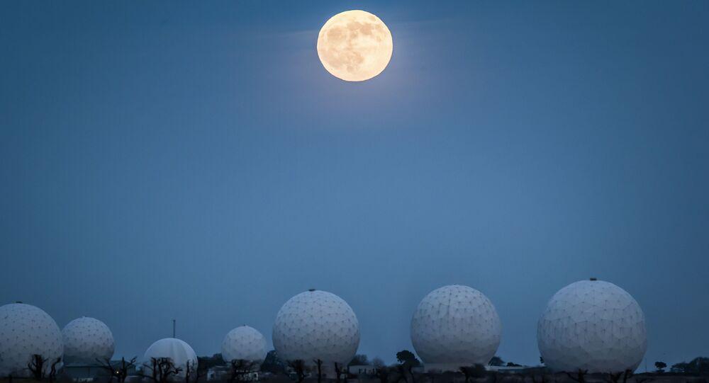 أول ظاهرة فلكية في عام 2020 - خسوف القمر في إنجلترا، 10 يناير 2020