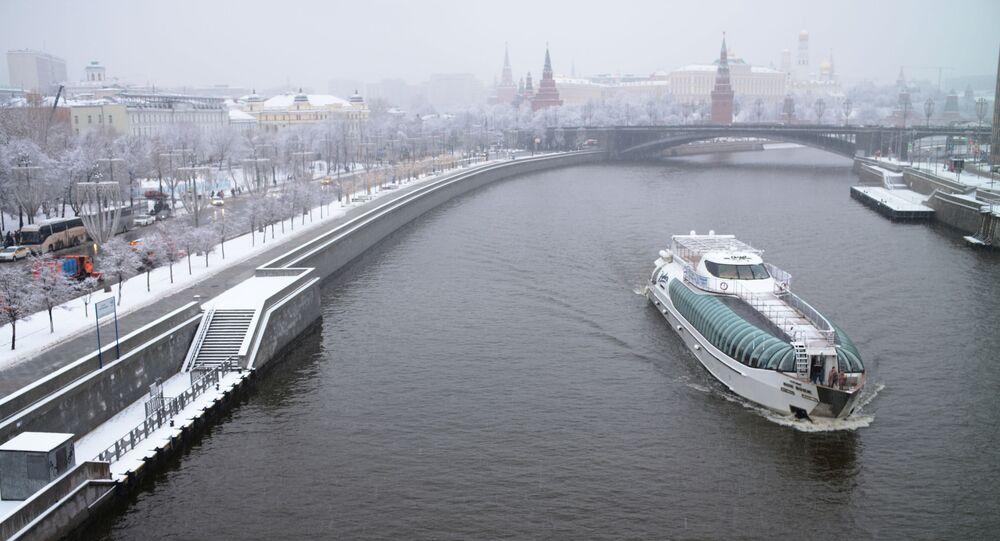 تساقط ثلوج في موسكو، 11 يناير 2020