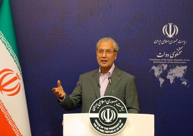 متحدث باسم الحكومة الإيرانية علي ربيعي